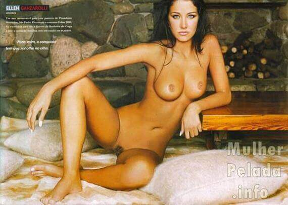 Helen Ganzarolli nua na Playboy