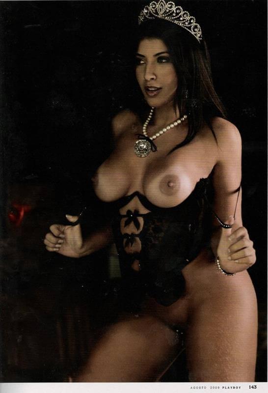 Priscila Pires nua na Playboy