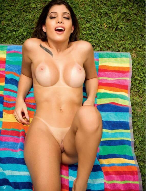 steffani prudencio nua na revista sexy