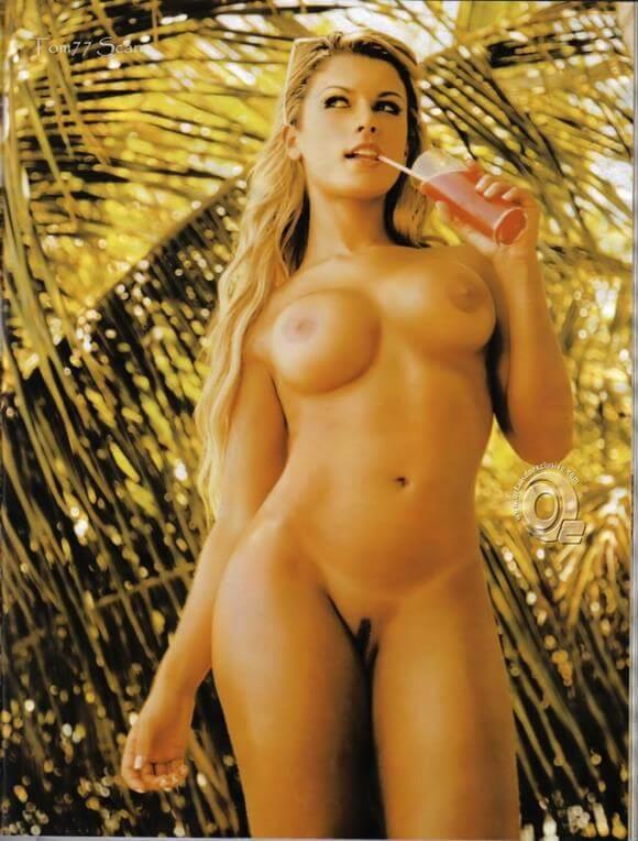 Babi Rossi nua na revista Playboy