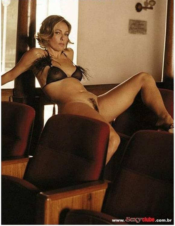 Cissa Guimaraes nua na revista Sexy