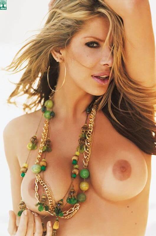 Karina Bacchi nua na revista Playboy