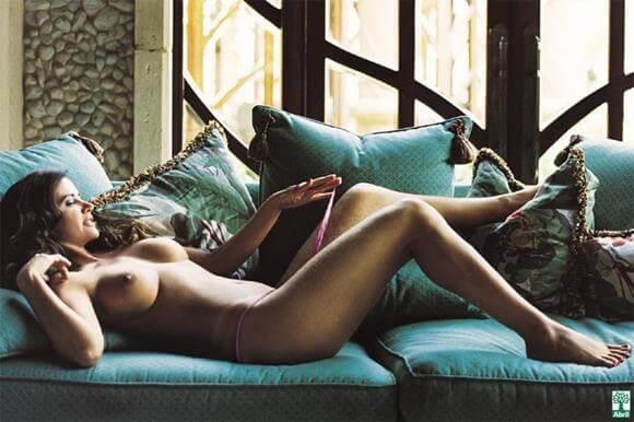 luma de oliveira nua na revista playboy
