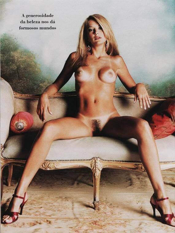 Ticiane Pinheiro nua na Playboy