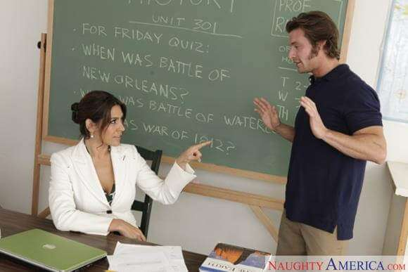 professora gostosa transando com aluno